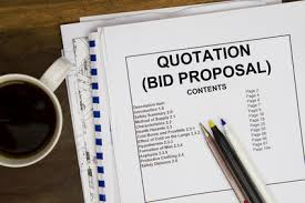 innovative and competitive government rfp contract proposal cover