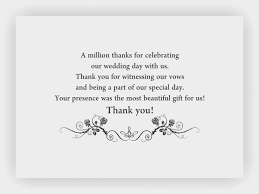 wedding gift message beauteous thank you card messages wedding gifts card thank you