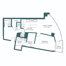 360 market square luxury apartments in downtown indianapolis in 1 bedroom 1 5 bathroom 980 sq ft