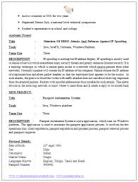 Free Download Resume Samples by Free Download Resume Format For Software Engineers Resume Format