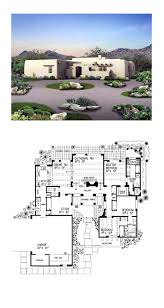 3417 best dream house plans images on pinterest santa fe southwest house plan 99274