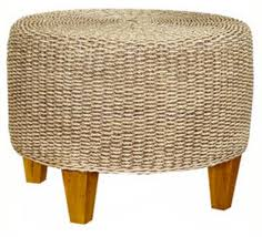 Round Seagrass Rug by Setting Of Seagrass Coffee Table