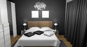 chambre blanche moderne chambre blanche et gris blanc deco bois noir fille