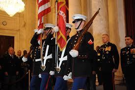 Usmc Flag Officers File U S Marine Corps Lance Cpl Spencer Stater Left Lance Cpl