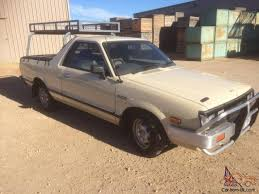 subaru brat for sale brumby 4x4 1992 ute manual 1 8l carb seats in sa