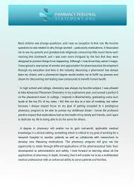 Statement Of Purpose Essay Sample We Provide Pharmacy Personal Statement Examples Pharmacy