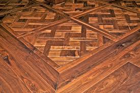 residence walnut parquet traditional living room