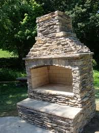 Diy Outdoor Fireplace Kits by Outdoor Stone Fireplace Kits Ontario Home Design Ideas