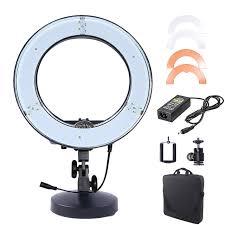 makeup artist light fusitu 12 180pcs led dslr ring light 5500k outdoor