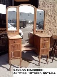 Furniture Vanity Table Unfinished Vanity Table Foter