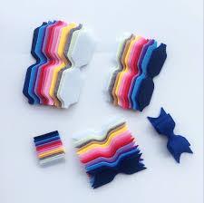 felt headbands diy non woven felt fabric cloth diy felt bow headband without