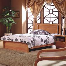 Solid Wood Contemporary Bedroom Furniture - oak wood bedroom furniture solid wood furniture modern chinese