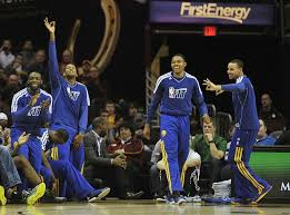 basketball bench celebrations possible new faces for golden state warriors bench mob