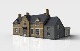 house single family house 3d model cgtrader