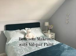 bedroom makeover with valspar paint teddy bears and cardigans