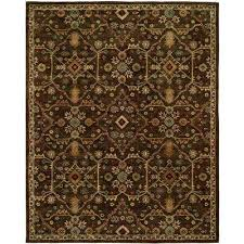 Chocolate Area Rug Dark Brown 9 X 12 Area Rugs Rugs The Home Depot