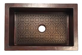 Kitchen Sink Basin Racks Mosaic Grate For Copper Kitchen Sink Artisan Crafted Home
