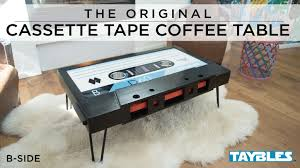 cassette tape coffee table for sale taybles the original cassette tape coffee table by taylor justin
