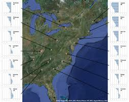Magnetic Declination Map Magnetic Declination Data Us 1750 2010 Phisical Psience Mcgraw 2016 Jpg