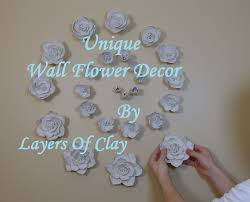 Wall Flower Decor by Diy How To Install 3d Flower Wall Decor Youtube