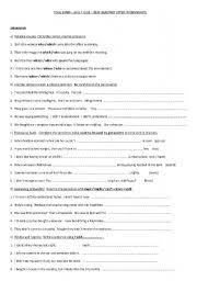 english teaching worksheets new headway