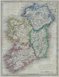 Map Of Golden Colorado by File 1822 Butler Map Of Ireland Geographicus Ireland Butler