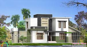 modern flat roof 4 bedroom house architecture kerala home design