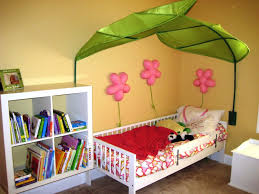 Toddler Bed Frame With Storage Bedroom Awesome Green White Wood Glass Unique Design Kids Room