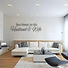 Wall Quotes For Living Room by Best Friends For Life Husband U0026 Wife Wall Quote Decal Sticker