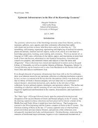 Inno Infr by Epistemic Infrastructure In The Rise Of The Knowledge Economy 1