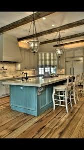 white oak wood classic blue lasalle door see thru kitchen island