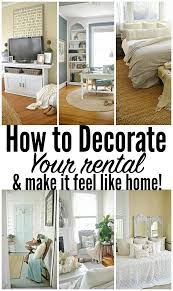 how to decorate your rental liz marie blog