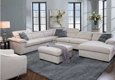 Rooms To Go Living Rooms - shop for a shiloh black 3 pc blended leather sectional living room