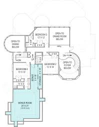 Courtyard Plans by Hennessey Courtyard Luxury Floor Plan 4000 Sq Ft House Plan