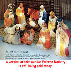 Lighted Nativity Scene Outdoor Christmas In Birmingham Decorations