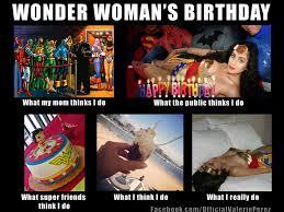 Geek Birthday Meme - wonder woman s birthday birthday greetings pinterest