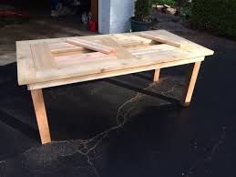 Cedar Patio Table Ana White Cedar Patio Table W Hidden Coolers Diy Projects