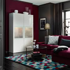 Living Room Storage Cabinets Ikea Living Room Ideas Brown Plain Vertical Curtain Sleeper Sofa