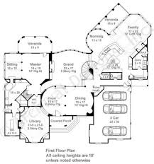 All In The Family House Floor Plan Pontarion Castle House Plans European House Plans