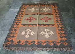 Indian Area Rug Turkish Indian Area Floor Moroccan Kilim Rug Flatweave Rug