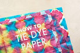 pattern making tissue paper diy tie dye tissue paper