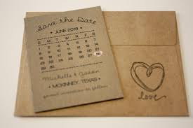 save the date calendar rustic calendar magnet save the date envelopes
