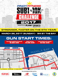 Moa Map Pinoy Fitness Sub1 10k Challenge 2017 In Sm Moa Pinoy Fitness