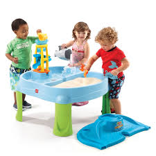 step 2 sand and water table splash scoop bay kids sand water play step2