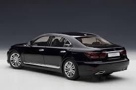 lexus ls v10 amazon com autoart 1 18 lexus ls600hl black black automotive