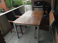 balkon und terrasse balkon set mit ausklappbarem tisch stuhl terrasse neu in