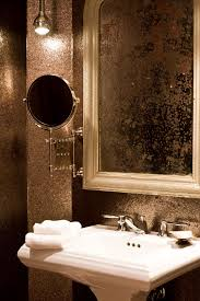 photos hgtv glamorous gold powder room loversiq