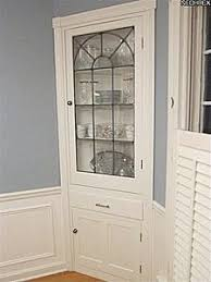 Corner Cabinet Dining Room Duncan Phyfe Corner Cabinet My Refurbs Farmhouse Chic