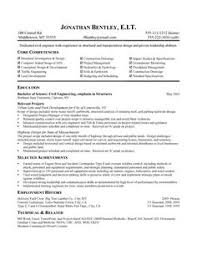 Resume For Civil Engineering Job by A Properly Organized Resume Saves Potential Employers Time When