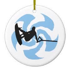 wakeboarding ornaments keepsake ornaments zazzle
